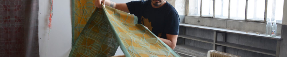 Daniel Villela, artiste mexicain en résidence Atelier Mondial, 2019