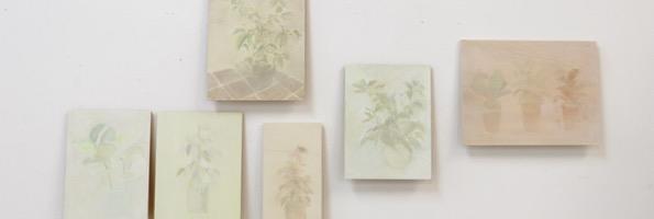 Récollections (série) acrylique et huile sur toile et bois, 2019