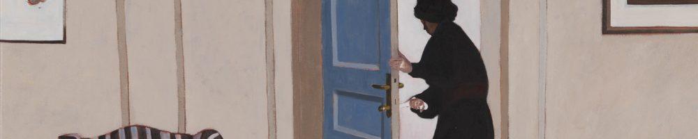 Viaggio in italia huile sur toile 120x100cm