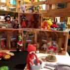 H-1 avant l'ouverture du marché de Noël. Heureux d'accueillir les amis venus d'ailleurs : #crazygoogfil, #fannydelque @liliterrana - December 14, 2019